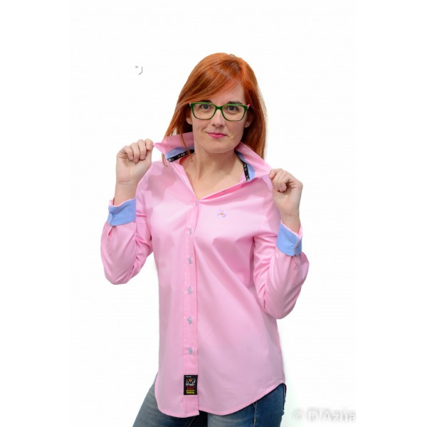 5e1620abffd1 Camisa Rosa Clásica sin entallar