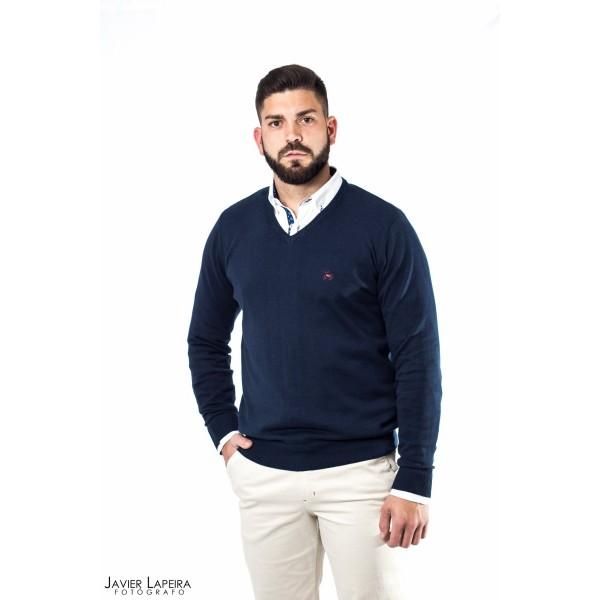 JERSEY AZUL MARINO